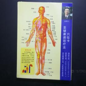 亚健康速效疗法穴位卡。