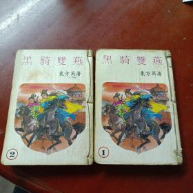 《黑骑双燕》 (存:第1,2册)有损见图