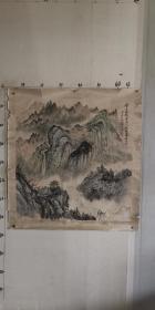 河北著名老画家(吕砚学)68*68……山水