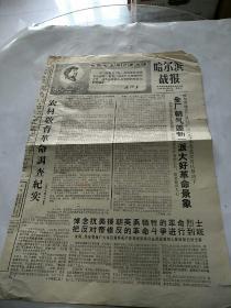 哈尔滨战报1968年10月26日