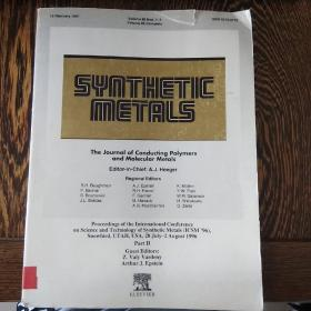 SYNTHETIC METALS
