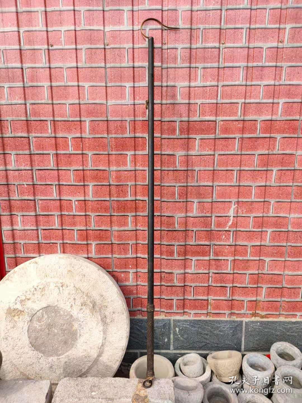 清代,老鸟杆,全品正常使用,有木和铜件组成。
