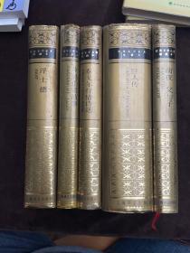 世界文学名著珍藏本:浮士德+坎特伯雷故事:canterbury tales+泰戈尔抒情诗选+巨人传+前夜 父与子(五册)