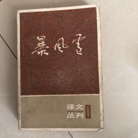 暴风雪 译文丛刊1期