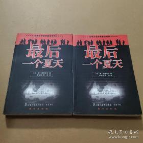 最后一个夏天:战争文学经典重读系列(上下册)