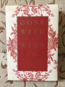 Gone with the wind by Margaret Mitchell 米歇尔《随风而逝》60周年纪念版 精装毛边本带书盒