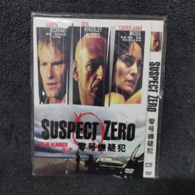 零号嫌疑犯 DVD 光盘 碟片未拆封 外国电影 (个人收藏品)