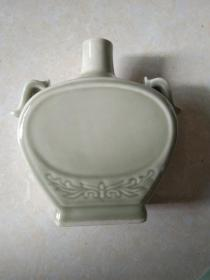中国汝瓷 款 青瓷酒瓶(壶)