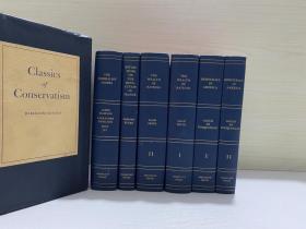 Classics of Conservatism  包含 国富论 等几部经典著作 六卷全有书匣