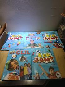 Mosa Nasa's Big Jump student BOOK  4 附三张光盘【五本合售】
