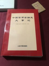 中国货币金融史大事记
