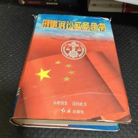 刑事诉讼实务全书:中华人民共和国刑事法律大全