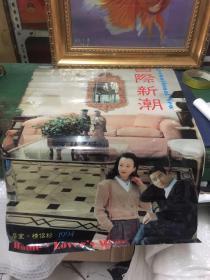 1994年挂历;国际新潮《居室情侣衫》 塑料薄膜13张全