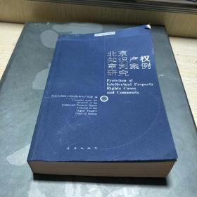 北京知识产权审判案例研究