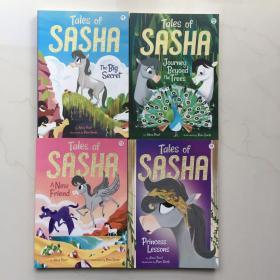 Tales of Sasha 萨沙的故事   1-4    4本打包合售  英文原版儿童读物