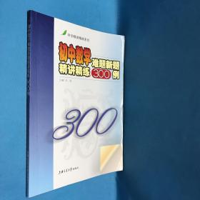 中学精讲精练系列:初中数学难题新题精讲精练300例