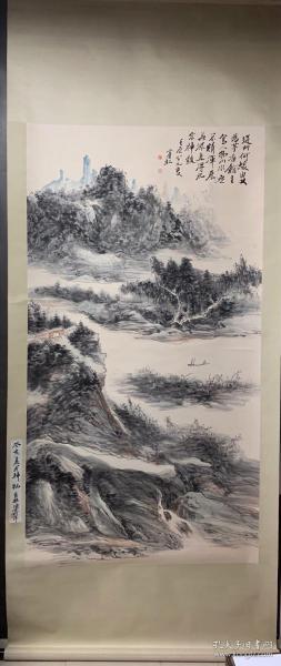 黄宾虹山水画