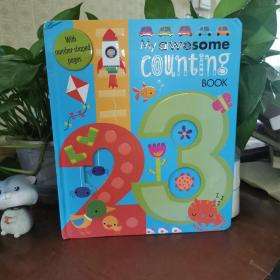 英文原版绘本书My Awesome Counting Alphabet Book 1-20 字母书