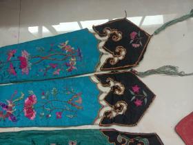 绣品丝织品清代