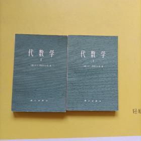 代数学 Ⅰ Ⅱ(1 2 )二册合售 品相挺好