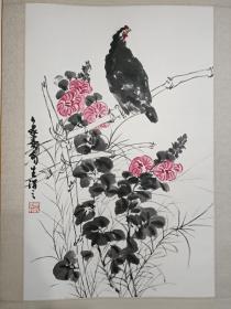 杨象宪国画花鸟作品