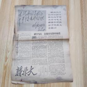 文革报纸:《新北大》(第139期)1967年12月2日