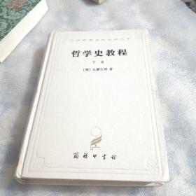 哲学史教程(下卷):特别关于哲学问题和哲学概念的形成和发展