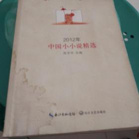 2012年中国小小说精选(封面有水迹)