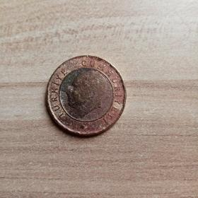 外国钱币 土耳其2014年硬币(面值1)(YB1)