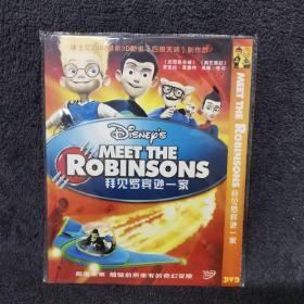 拜见罗宾逊一家 DVD 光盘 碟片未拆封 外国电影 (个人收藏品)