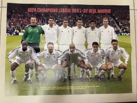 足球海报 2002 皇家马德里/齐达内