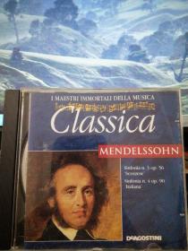 门德尔松《第三、第四交响曲》【原版进口CD】
