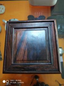 抽槽红木玉器盒   一只,红酸枝,包真,装玉器送礼上档次必备,存于翠竹苑花梨柜台中