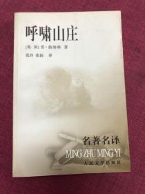 呼啸山庄:名著名译