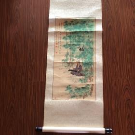 张兴国 工笔画 (63x31cm)