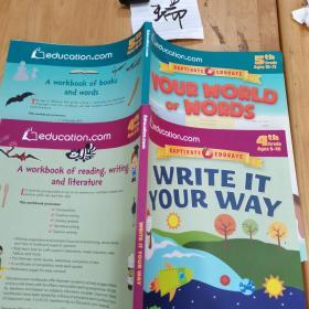 WRITE IT YOUR WAY 按自己的路来写