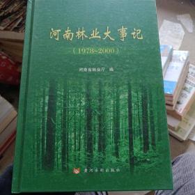 河南林业大事记(1978-2000)