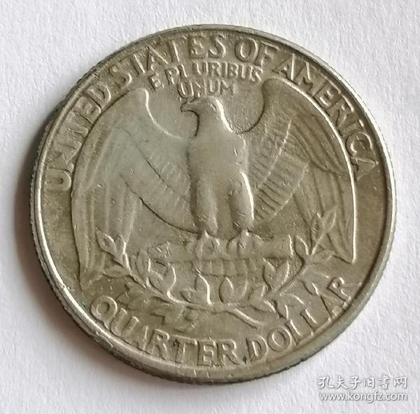 美国25美分保真