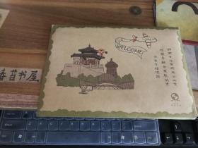 邯郸文化市场与公共文化服务融合发展试点分布手绘地图