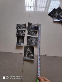 文革时期照片 老照片 剧照 7张保真,包老