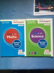 Maths, Science,Cambridge checkpoint, new edition,  revision guide  两册合售