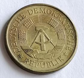 东德钱币20芬尼保真