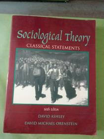 sociological Theory   CLASSICAL STATEMENTS   sixth Edition(英文原版)