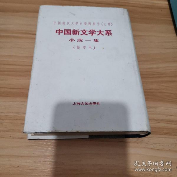 中国新文学大系:小说一集