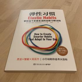 弹性习惯(译成21种语言的畅销书《微习惯》作者重磅新作!)