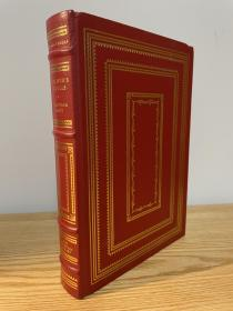 Gulliver's Travels 《格列佛游记》 jonathan swift 斯威夫特 franklin library 1982年出版真皮精装 限量收藏版 25周年版 西方世界伟大名著系列丛书之一
