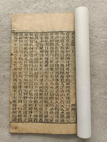 木刻本《唐书》卷31~卷32;两卷共计30页60面