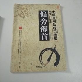 小学生书法练习模板:毛笔入门字模(套装共3册)