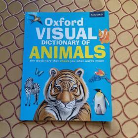 牛津动物视觉词典 英文原版工具书 Oxford Visual Dictionary of Animals 儿童认知启蒙英语图解字典 英文版进口书籍 正版
