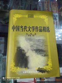 中国当代文学作品精选 诗歌卷 1949-1999 (精装仅印500册)